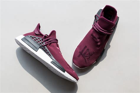 Nmd Human Race Friends And Family pharrell adidas nmd burgundy friends family sneaker bar