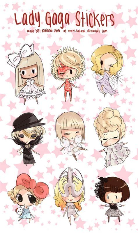Gaga Stickers