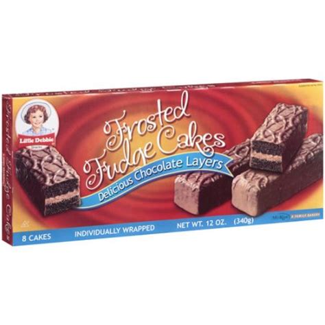 debbie cakes debbie snacks frosted fudge cakes 8ct walmart