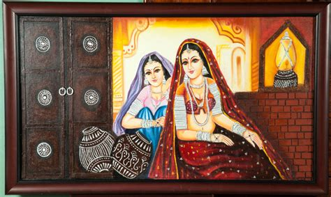 Indian Wall Murals shyam art works tanjore painting rajasthan painting