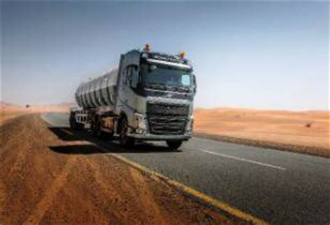 volvo trucks middle east registers marked growth