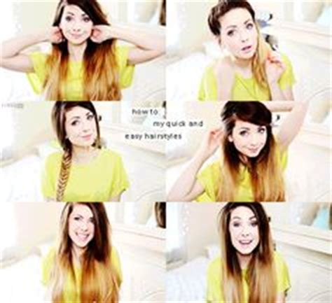 easy and quick hairstyles zoella zoe sugg on pinterest zoella zoella beauty and joe sugg
