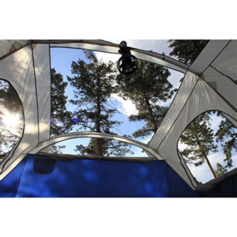 Gartner Cabin 6 Led coleman elite weathermaster tent 17 x9 6 person cabin tent with led light system screenroom