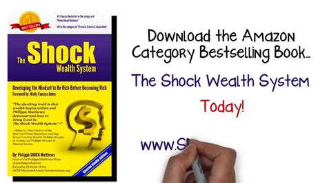 Shock Wealth How To Achieve Wealth Mindset The Shock Wealth System