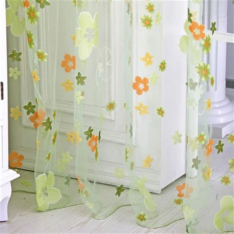 small sheer curtains 2016 new small floral colored curtains pattern curtains