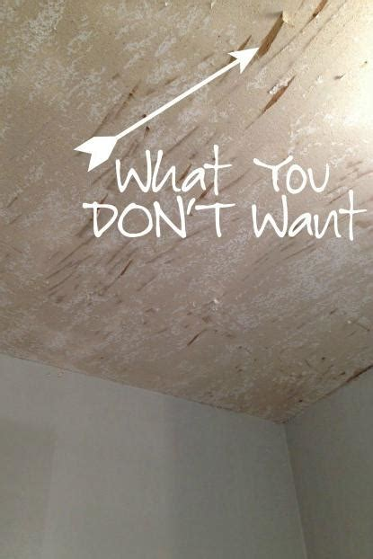 How To Repair Concrete Ceiling by The Diy Designer The Do S And Don Ts Of Removing Popcorn