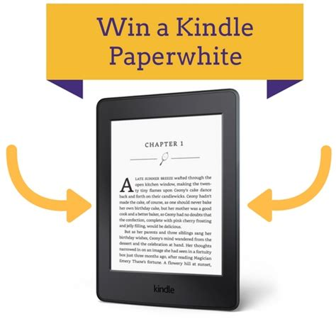 kindle contest win kindle paperwhite win a new kindle paperwhite giveaway