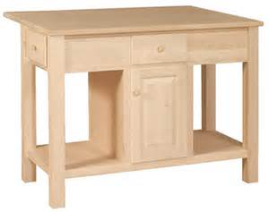 Unfinished Furniture Kitchen Island by Unfinished Kitchen Island Unfinished Furniture