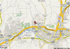 map of best western of johnson city johnson city
