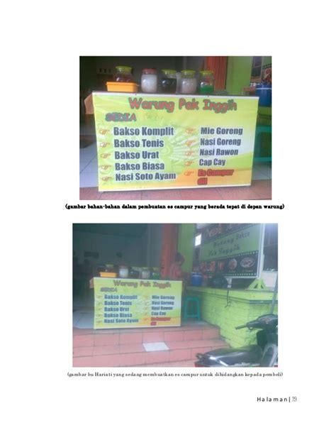 contoh karya ilmiah bahasa indonesia mengenai usaha