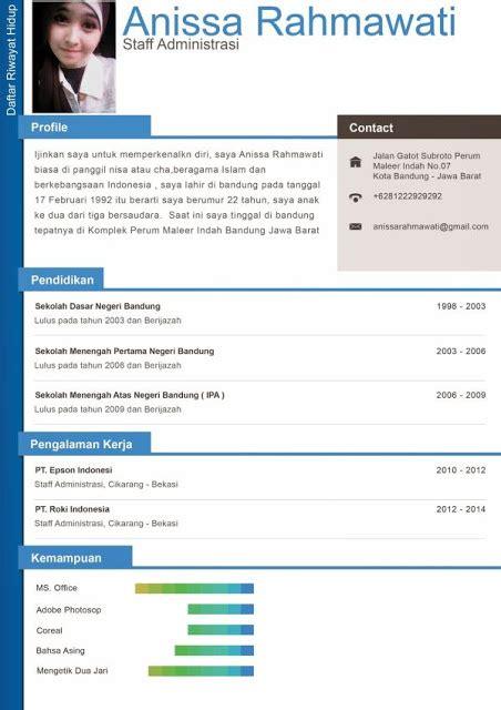 contoh membuat cv lamaran kerja online contoh surat lamaran kerja dan daftar riwayat hidup