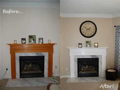 Before And After Fireplaces by Fireplace Makeover Excuse The Mess