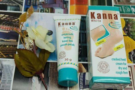 Kanna Krim Lembut Kaki 2 produk kanna foot untuk mengatasi tumit kaki pecah
