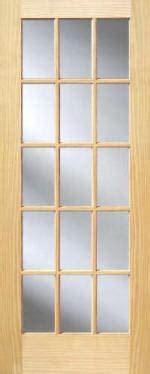 15 Lite Interior Door Pine 15 Lite Interior Doors Homestead Doors