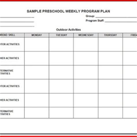 summer c lesson plan template 19 gallery of the creative curriculum for preschool 5th