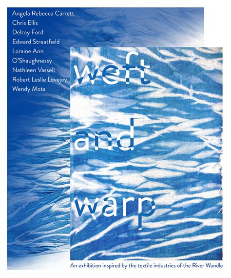 wandle textil weft warp textile industries of the river wandle