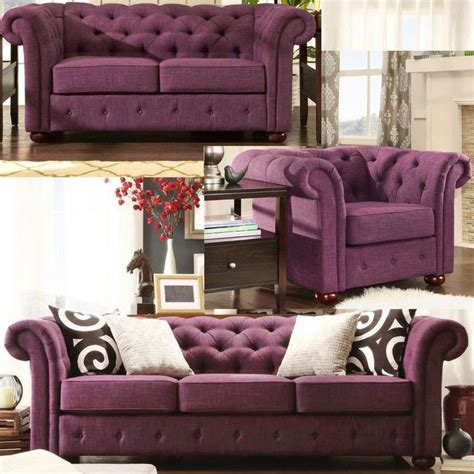 tufted living room set chesterfield living room set linen tufted tuxedo sofa