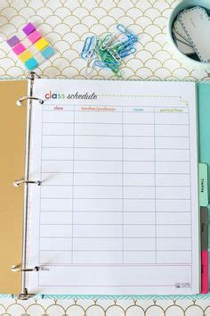 chore schedule office templates