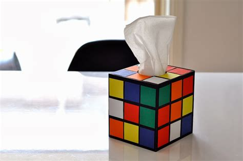 Origami Rubix Cube - 16 diy ways to geekify your diply