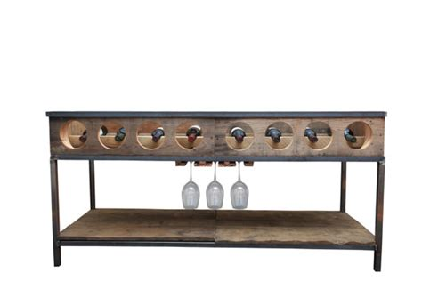 Wine Rack Console by Wine Rack Console Table By Michaelgrahamdesigns On Etsy