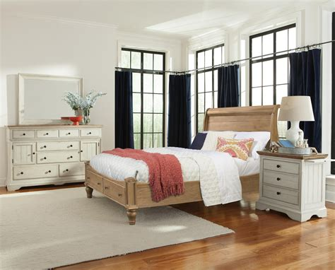 Cottage Furniture Collection by Cresent Furniture Cottage Cal King Bedroom