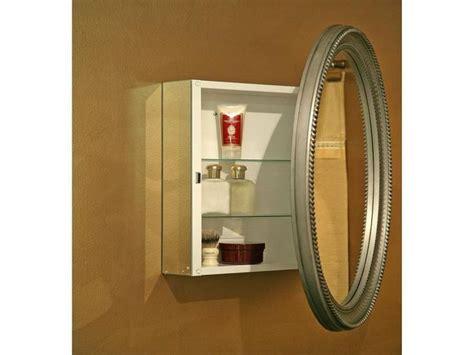 oval mirror medicine cabinet oval mirror on medicine cabinet bathrooms nearly
