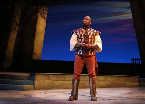 peter macon image peter macon is bigger than life in othello at guthrie
