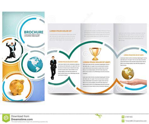 circle brochure royalty free stock photo image 27891355