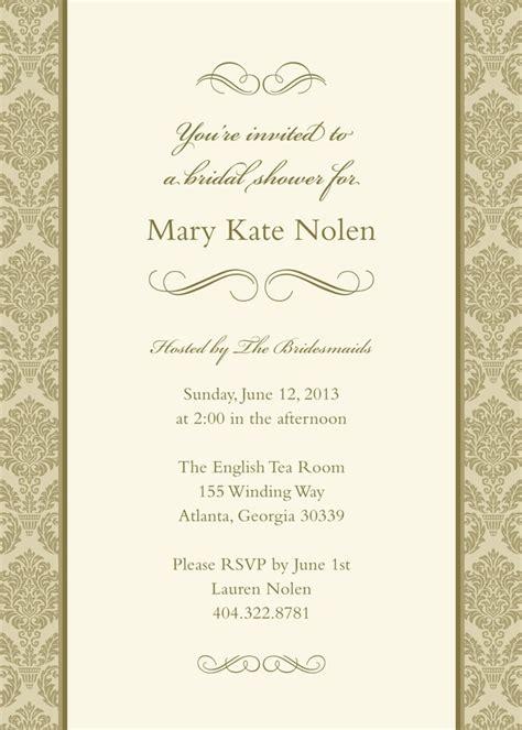 kleinfeld bridal shower invitations forever wedding shower invitation kleinfeld paper