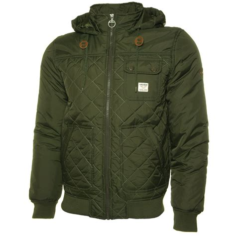 Quilted Bomber Jacket by Threadbare Colwyn Quilted Bomber Jacket Jon Barrie Threadbare