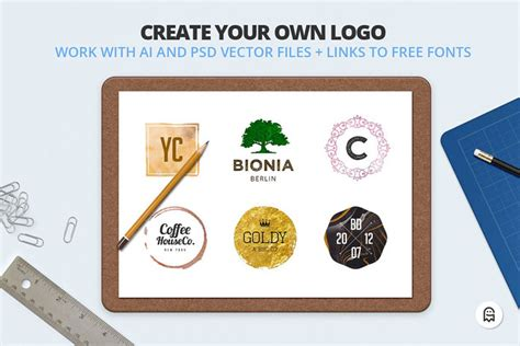 make your own pattern in photoshop logo creators kit for photoshop and illustrator