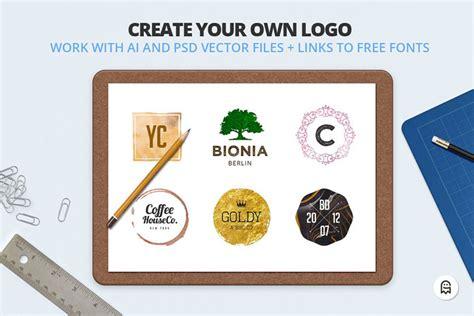 design your logo photoshop logo creators kit for photoshop and illustrator