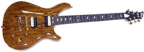 Quicksilver Brazil Darkbrown Bocote Guitar Tone Wood Ed Guitars
