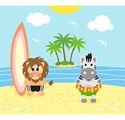 Beach Zebra Clipart  1 Clip Art &amp Vector Site