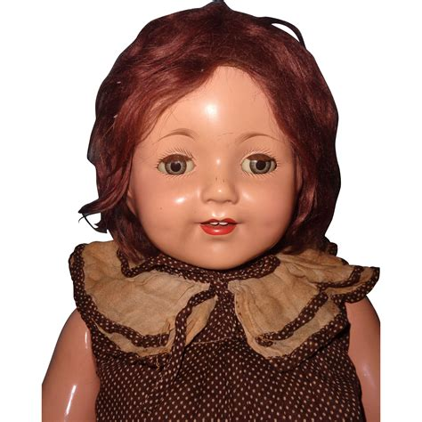 effanbee composition doll effanbee large 26 quot marilee composition doll from