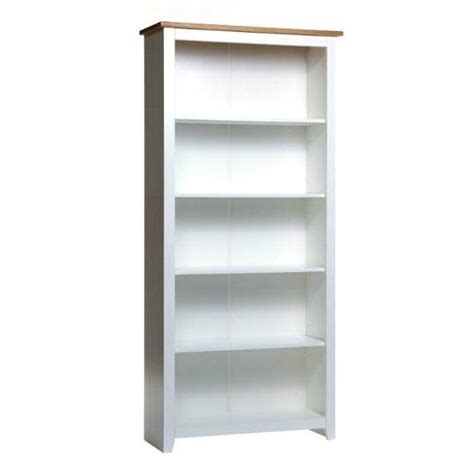 White Bookshelf White Wooden Bookcase Homehighlight Co Uk
