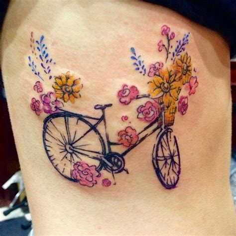 watercolor tattoo amsterdam best 25 bike tattoos ideas on bicycle