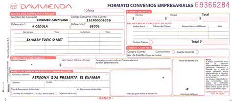 certificacion bancaria predial banco davivienda administracion de examenes internacionales met toeic