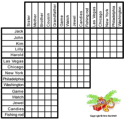 free printable holiday logic puzzles christmas is coming puzzle