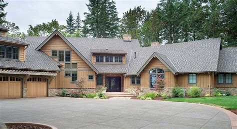 luxurious home plans luxurious mountain home plan 69474am architectural