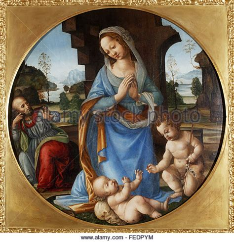 di credi lorenzo di credi madonna and child stock photos lorenzo