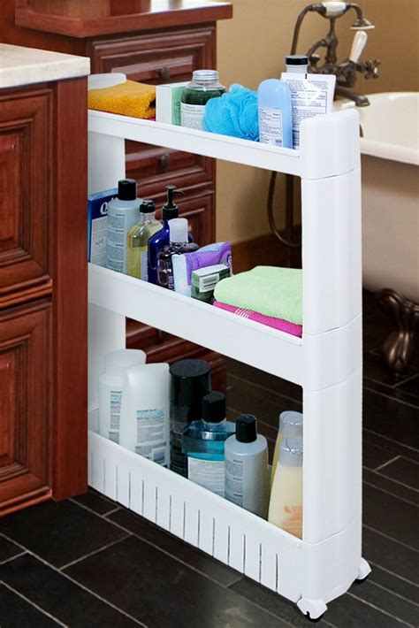 slide out storage tower for kitchen bath laundry rooms