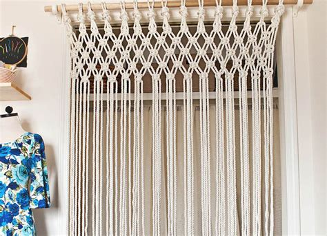 diy curtain room divider macrame curtain room divider ideas room dividers ideas