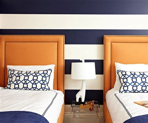 orange and blue room bhg centsational style