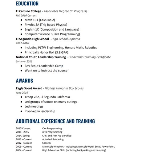 Eagle Scout On Resume by Eagle Scout Resume Sanitizeuv Sle Resume And