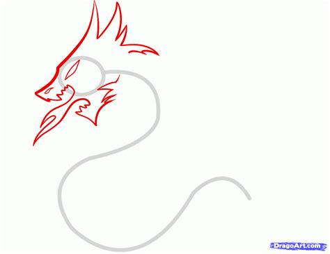 how to draw a dragon tribal tribal dragon tattoo step by