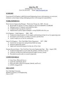 Wind Engineer Cover Letter by Resumes For Civil Engineers