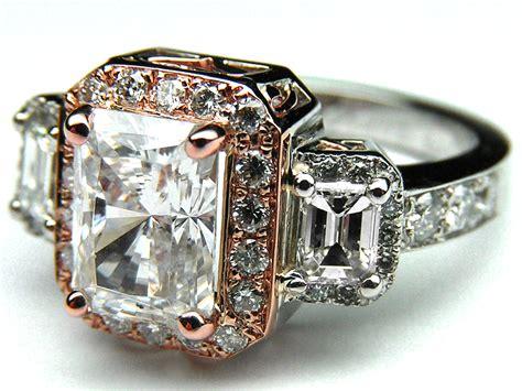 pear cut morganite gold engagement ring