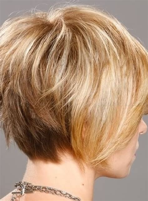 layered bob hairstyles for over 50 front and back view short hairstyles over 50 layered bob haircut for mature