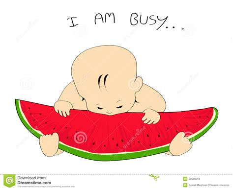 Jumping Beans Gir Watermelon Pink 2d vector watermelon slice baby royalty free stock images image 12599219